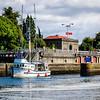Hiram M Chittenden Locks, Lake Washington Ship Canal, Ballard, Seattle, Washington