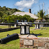 Careening Capstans, Nelson's Dockyard, English Harbour, Antigua