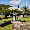 Careening Capstans, Nelson's Dockyard, English Harbour, Antigua