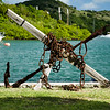Anchor & Chain in Garden of Admiral's Inn Hotel. Nelson's Dockyard, English Harbour, Antigua