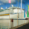 Adventure of the Seas, Royal Caribbean Cruise Ship, St. John's Harbour, Antigua