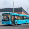 Arriva Midlands 3739 Plaxton Centro YJ57AZR. Route 6 Rickerscote-Stafford (wrong blind)
