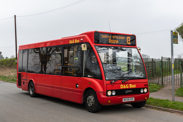 D&G Bus 143 Optare Solo, Norton Bridge