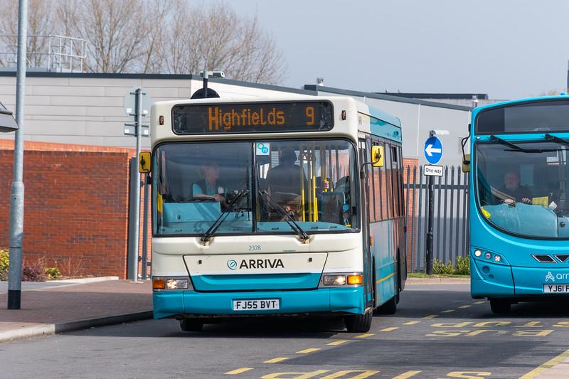 Arriva Midlands 2378 Plaxton Pointer / Dennis Dart 2378