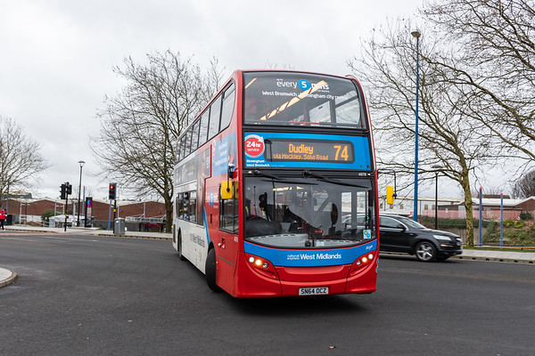 SN64 OCZ, West Bromwich Bus Station