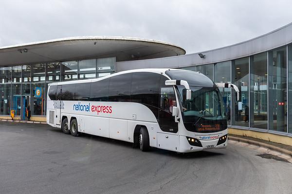 National Express Plaxton Elite C60FLt, Wolverhampton Bus Station