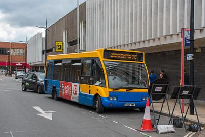 Banga Buses MX04VMF, Wolverhampton