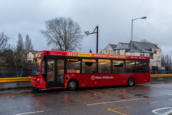 BX62 SOH, Bilston Bus Station