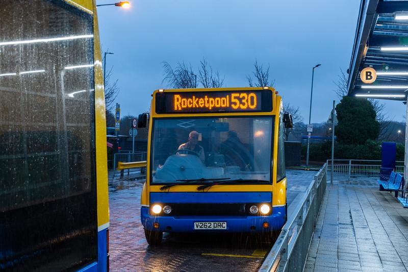 Banga Bus Optare Solo, Bilston Bus Station
