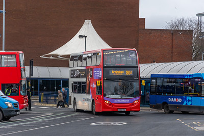 BK63 YVZ, West Bromwich Bus Station