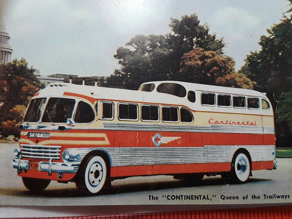 """The """"Continental"""", Queen of the Trailways"""