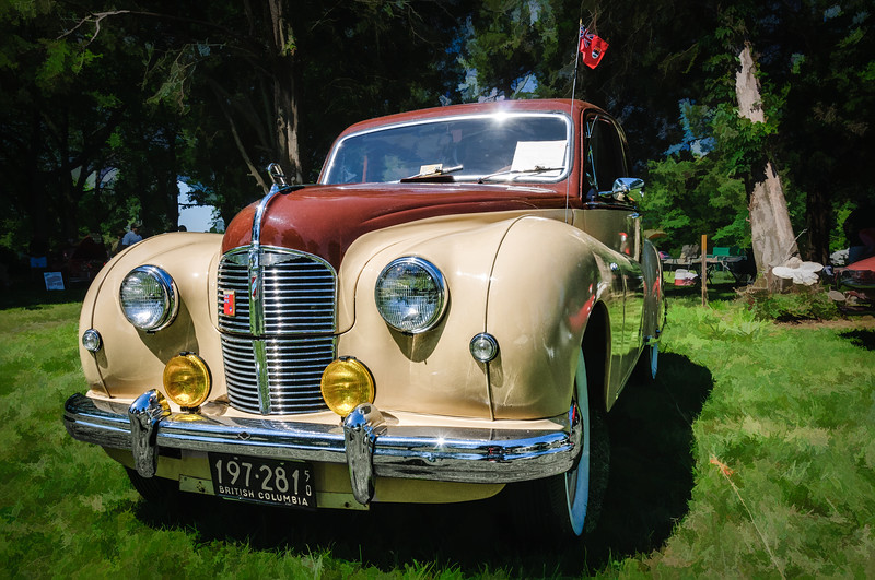 1950 Austin A70 Hereford, Sully Historic Site, Chantilly, Virginia