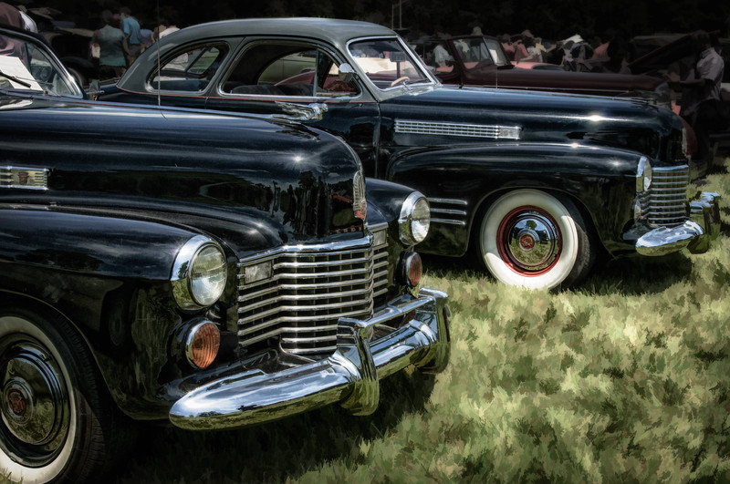 1941 Cadillac Series 62, Antique Car Show, Sully Historic Site, Chantilly, Virginia