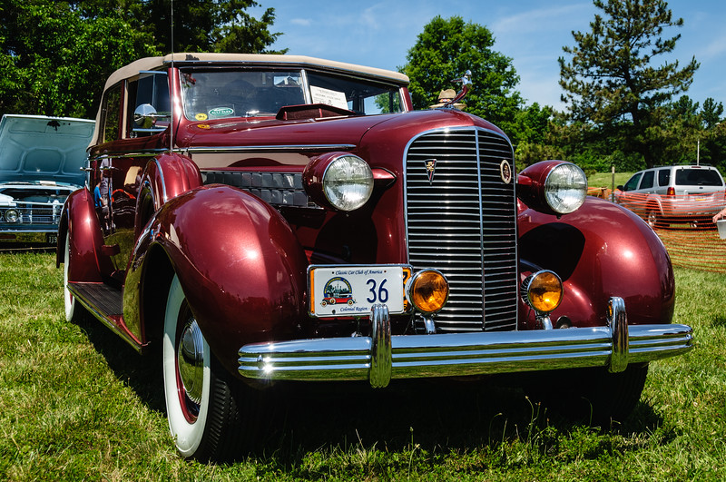 1936 Cadillac Fleetwood V-12, Sully Historic Site, Chantilly, Virginia