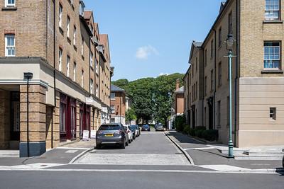 Poundbury new town