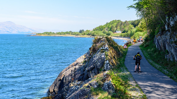 Cycling on the Caledonia Trail