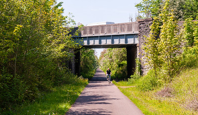 Cycling on the Bristol and Bath Railway Path
