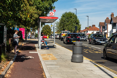 Greenford Road floating bus stop