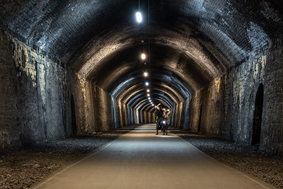 Chee Tor Tunnel on the Monsal Trail