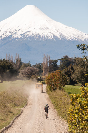 Cycling in Chilean Patagonia