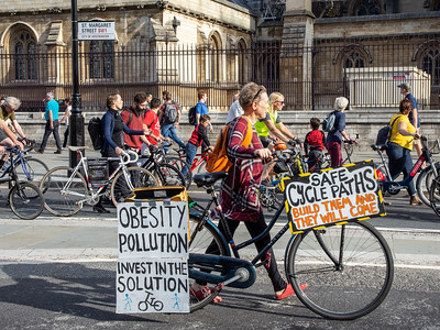 Stop Killing Cyclists Pedal on parliament - October 13, 2018