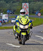 Police on Duty at the Gumball 3000 Rally near Prestwick - 8 June 2014