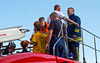Getting Acquainted  at the Paisley Fire Engine Rally - 17 August 2013