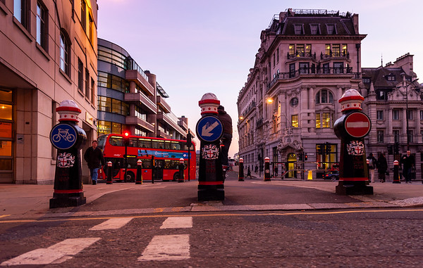 Modal filter in the City of London
