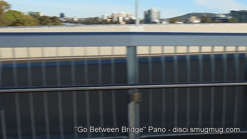 720p Video: 9 1/2 months later, a 360 degree view from the recently opened Go Between Bridge; Brisbane, Queensland, Australia. (Warning - no tripod :) :) )