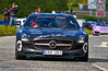 Swedish Team Mercedes-Benz SLS AMG at the Gumball 3000 Rally near Prestwick - 8 June 2014