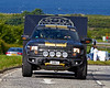 Gumball 3000 Rally Support Car at Prestwick - 8 June 2014