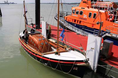 Lucy Lavers at RNLI Harwich