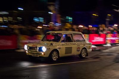 Monte Carlo Classic Car Rally (Rallye Monte Carlo Historique), Paisley, 27th January 2016