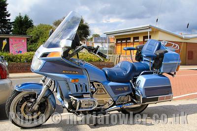 Honda Goldwing Aspencade GL 1200 motorcycle