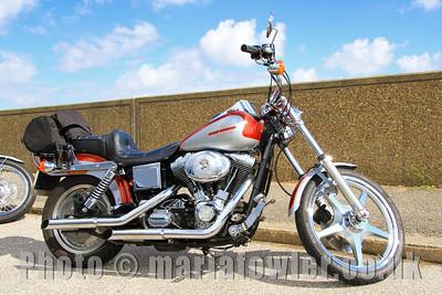 Harley-Davidson Dyna Wide Glide motorcycle