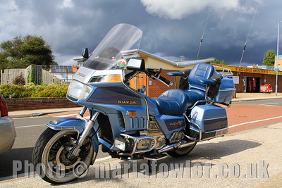 Honda Goldwing Aspencade GL 1200 motorcycle