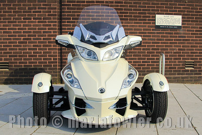 BRP Can-Am Spyder Roadster RT Motorcycle http://www.brp.com/en-gb/vehicles/can-am-roadsters