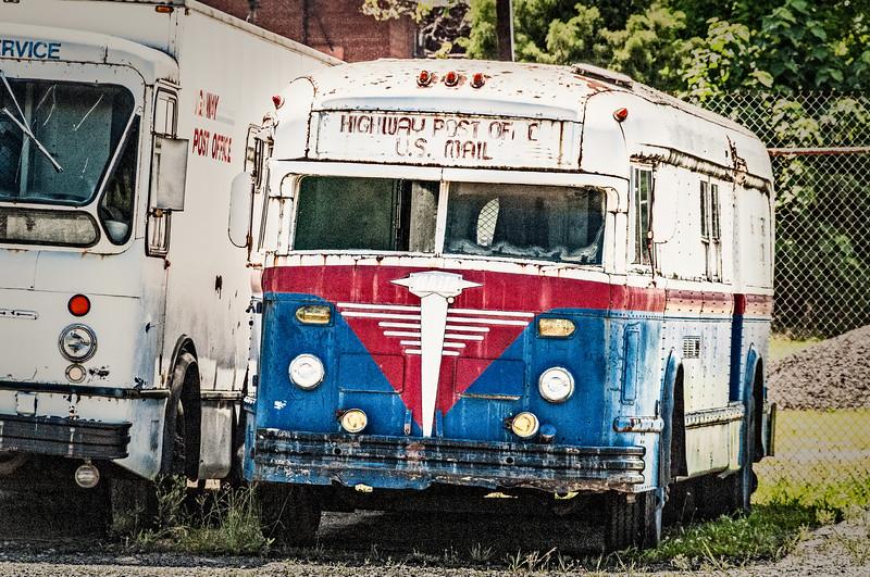 Highway Post Office U.S. Mail Bus, Virginia Museum of Transportation, Roanoke, VA