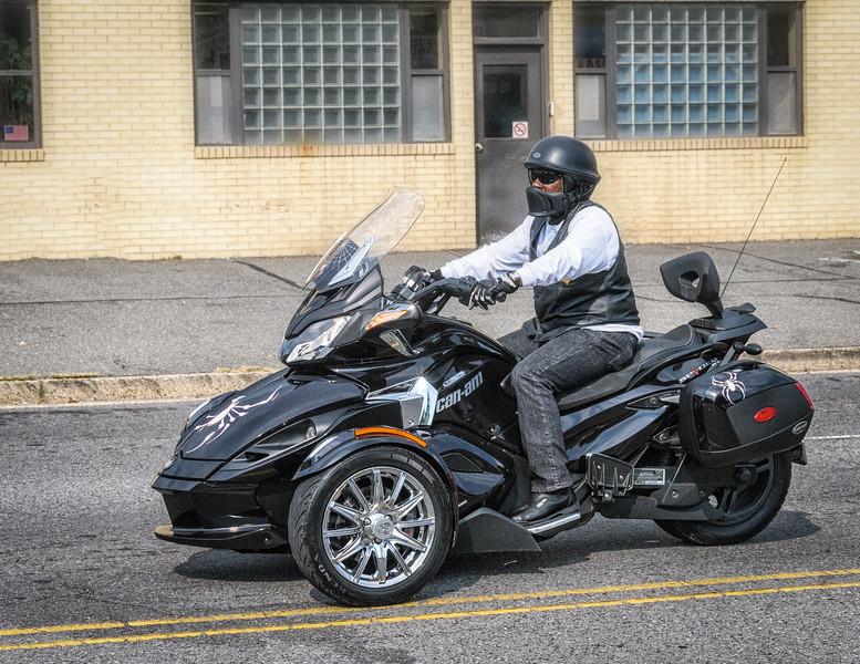 Can-Am Spyder outside Coleman Powersports, Falls Church, Virginia