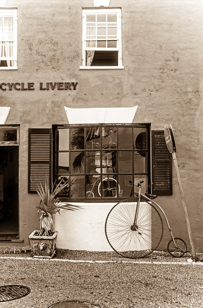 St. George's Cycle Livery, Water Street, St. George's, Bermuda