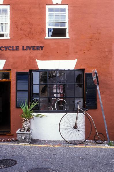 St. George's Cycle Livery, Water Street, St. George's, Bermuda