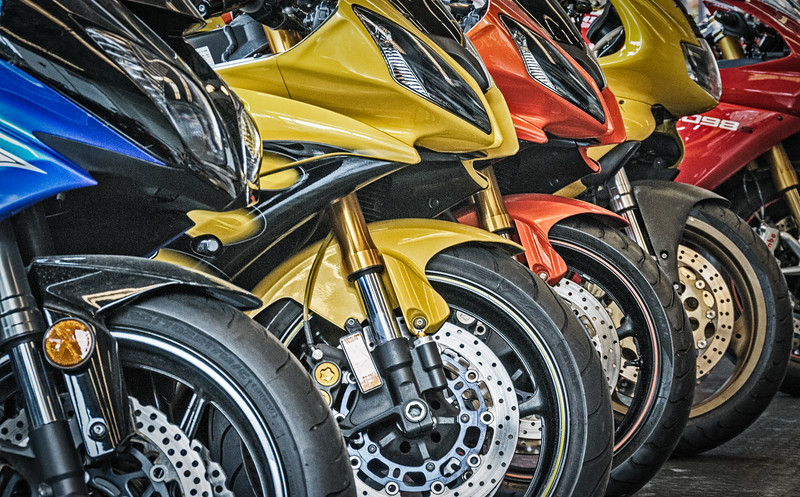 Motorcycles, Coleman Powersports, Washington Street, Falls Church, Virginia