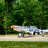 P-51 Mustang Ain't Misbehavin', Fly-In to Victory Day, Steven F. Udvar-Hazy Center, Smithsonian National Air and Space Museum, Chantilly, VA