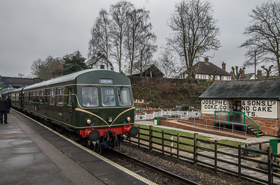 DMU at Rothley...to Crewe(!)
