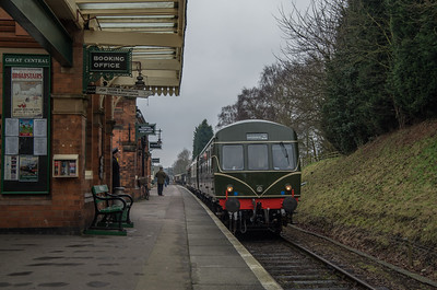 DMU at Rothley