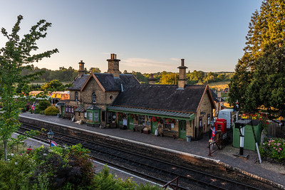 Arley Station - By Evening