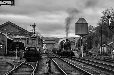 Great Western scene at Bewdley