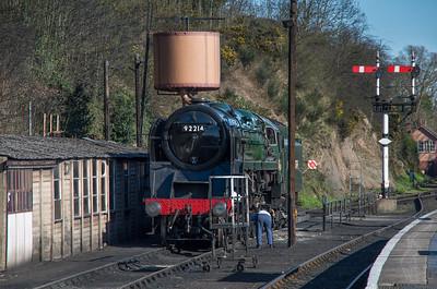 92214 at Bewdley