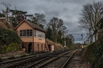 Bewdley South signal box