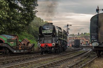 34027 'Taw Valley' at Bridgnorth